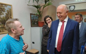 Меркушкин посетил пансионат ветеранов в Жигулевске