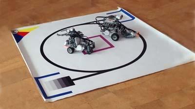 школьники Жигулевска собрали роботов сумоистов